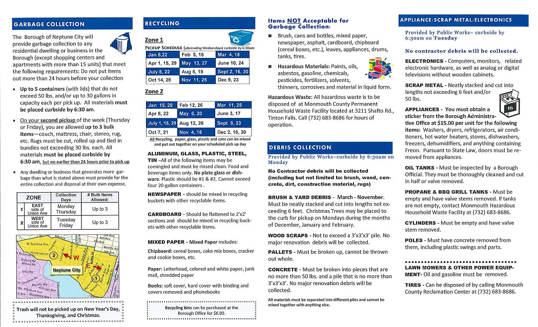 2020 Resident Information Pamphlet Page 2