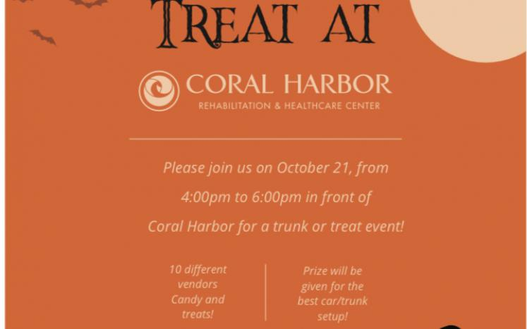 Coral Harbor Center's Trunk or Treat