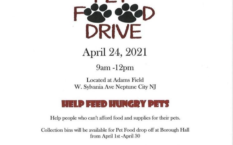 pet food drive